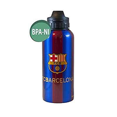F.C. Barcelona Official FCB Aluminium Drinks Bottle Messi 10