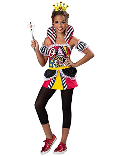 InCharacter Costumes Queen of Hearts Costume, One Color,
