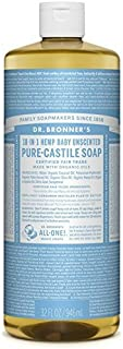 product image for Dr. Bronner's Magic Soaps 18-in-1 Hemp Pure Castile Soaps Baby-Mild, Unscented 32 fl. oz. - 2pc