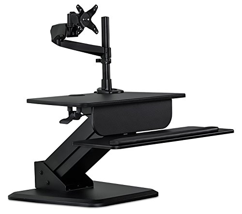 Mount It Sit Stand Desk Converter And Height Adjustable