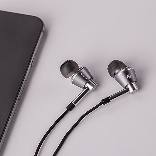 1MORE Triple Driver In Ear Headphones (Earphones, Earbuds) with Microphone (Titanium) - Image 6