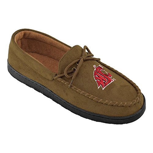 NCAA Washington State Cougars Men's Moccasin, Size 11, - State Cougars Tailgate Washington