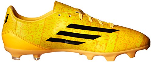 Adidas Performance Mens F10 Fast Mark Messi Fotboll Cleat Sol Guld / Svart / Svart