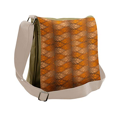 Ambesonne Messenger Bag, Artistic Nature Autumn, Unisex Cross-body
