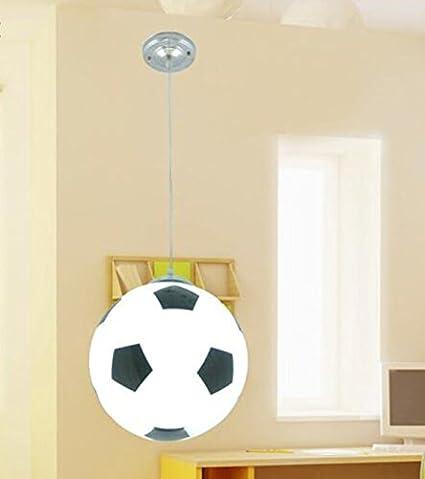 Las luces LED girl Boy Basket fútbol lámpara de techo ...