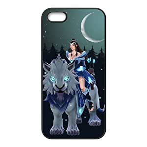 iPhone 4 4s Cell Phone Case Black Defense Of The Ancients Dota 2 MIRANA 010 LWY3571007KSL