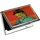 The Schoolboy Camille Roulin By Vincent Van Gogh Business Card Holder