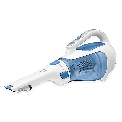 Black & Decker 14.4V Dustbuster Cordless Handheld Vacuum in Blue/White (Black And Decker Sweeper Bags compare prices)