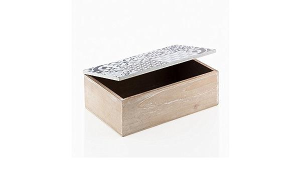 eurowebb caja decorativa mosaico en madera – artcile de Decoration almacenamiento: Amazon.es: Electrónica