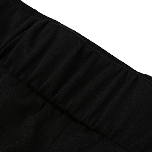 Pantaloni Sexy Cintura VICGREY Pantaloncini Pants Sport Shorts Selvatici Pantaloni Hot Workout Beach Yoga Estate Donna Palestra Nero Casual Fwq6AFOx