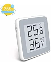 Homidy Digital Hygrometer Indoor Thermometer, Rare 360°HD E-ink Display Room Humidity Monitor Swiss Sensirion Industrial Grade High Accuracy Temperature Humidity Meter(Xiaomi Mijia Original)