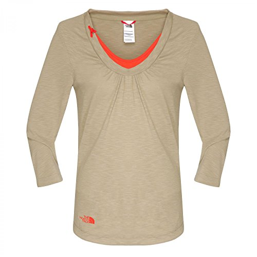 3 North Face Beige 4 Manche T shirt The TxZqw6WPEf