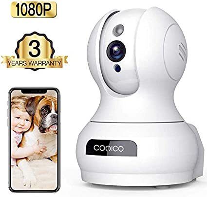 Wireless Camera, 1080P HD WiFi Pet Camera Baby Monitor