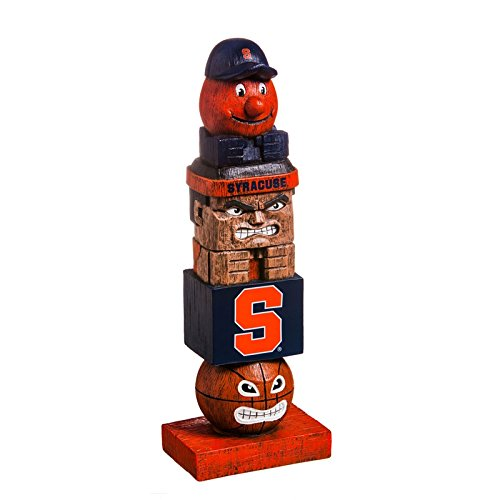 Team Sports America Syracuse University Tiki Team Totem Garden Statue (Players Syracuse University)