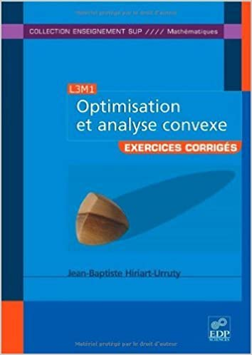 optimisation et analyse convexe