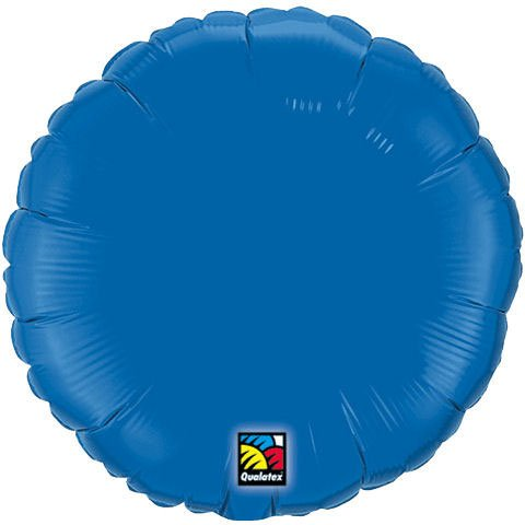Plain Periwinkle Round 18'' Mylar Balloon by Qualatex
