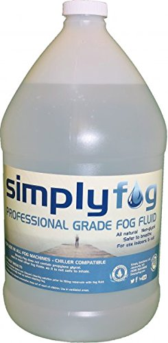 1 Gallon DJ Party Event Lighting Fog Juice for Fog Machines USA MADE - Premium Thick Juice (Does not contain Propylene (Lighting Fog Juice)