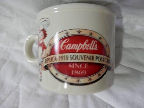 - Campbells Soup Cup, Replica 1910 Souvenir Postcard, Campbells Soups 10 Cents a Can