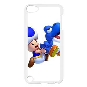 iPod Touch 5 Case White New Super Mario Bros. U Yegsr