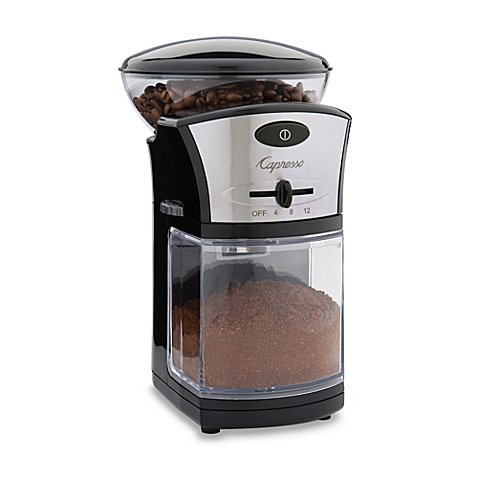 Capresso Disk Coffee Burr Grinder Model 559