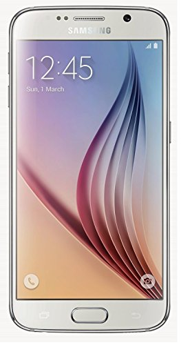 - Samsung Galaxy S6 G920a 32GB Unlocked GSM 4G LTE Octa-Core Android Smartphone w/ 16MP Camera (Renewed) (White Pearl)