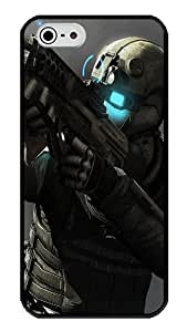 iPhone 5S Case, Ghost Recon Future Soldier 3 Slim & Flexible Silicone TPU Skin Cover For iPhone 5S And iPhone 5