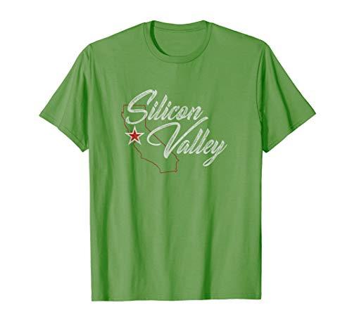 Silicon Valley California Vintage Style Shirt