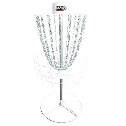 Image of Disc Sports Innova Discatcher Hammer Finish Sport Golf Disc Target, White
