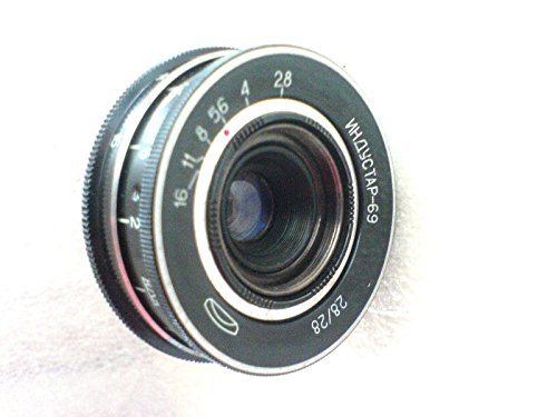 INDUSTAR-69 2,8/28 USSR Soviet Russian Wide Angle Lens M39