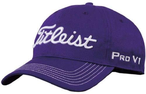 (Titleist Contrast Stitch Hat 2016 (Purple))