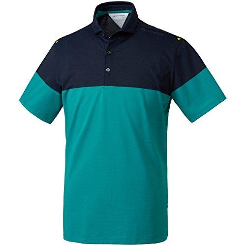 旋回幻想的相互接続テーラーメイド Taylor Made 半袖シャツ?ポロシャツ 半袖ポロシャツ ホワイト N64913 M