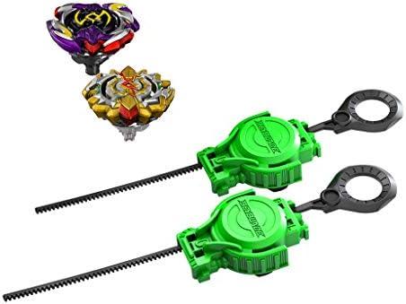 Beyblade Burst Turbo Slingshock Cross Collision Battle Set – Komplettes Set mit Beyblade Burst Beystadium-Arena, Battling Kreiseln und Startern – Alter 8+