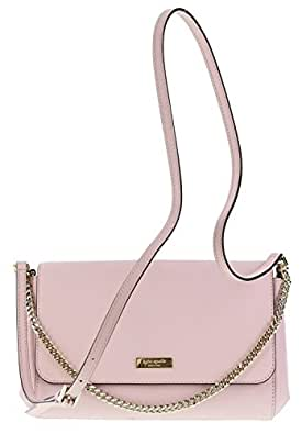 Kate Spade Newbury Lane Greer Saffiano Leather Handbag Shoulder Bag in Posy Pink (953)