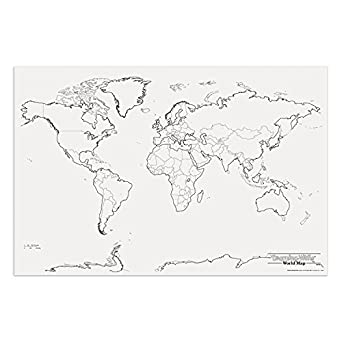 Pacon PAC78770 World Giant Map, 48
