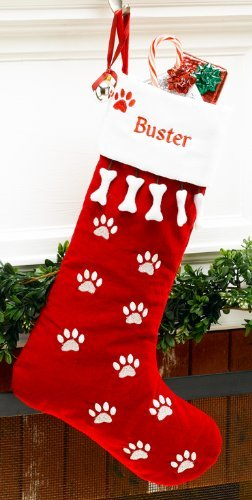 MerryStockings Pet Dog Christmas Stocking