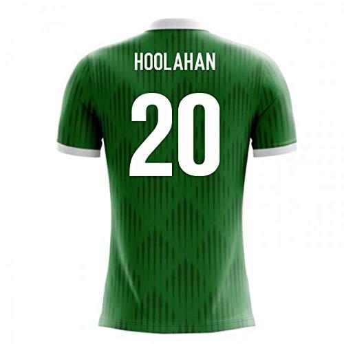- 2018-19 Ireland Airo Concept Home Football Soccer T-Shirt Jersey (Wes Hoolahan 20)