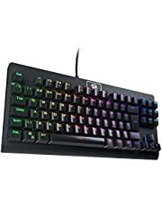 Redragon K568 DARK AVENGER Rainbow MECHANICAL GAMING KEYBOARD - (RED SWITCHES) - Spill-proof - Double Injection KeyCaps - Anti Ghosting All keys