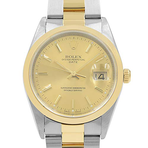 (Rolex Date Automatic-self-Wind Male Watch 15203 (Certified)