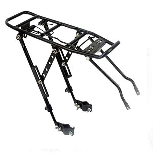 GBZZ Bike Cargo Racks Bicycle Shelf Universal Quick Release Mountain Single Car Rack Adjustable Rear Shelf Bicycle Rear Seat Riding Accessories