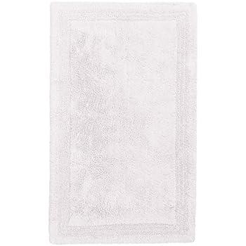 Amazon.com: Pinzon Luxury Reversible Cotton Bath Mat - 30 ...
