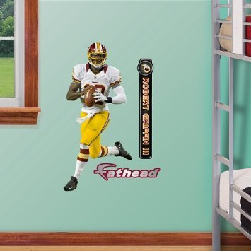 Fathead Jr. Robert Griffin III Wall - To Can Po Fedex Ship Boxes