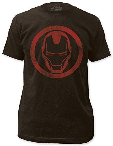 Icon Slim T-shirt - Iron Man - distressed icon T-Shirt Size L