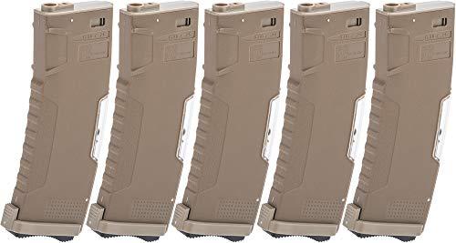 Evike Airsoft - BAMF GEN2 Polymer Magazine for M4 / M16 Series Airsoft AEG Rifles