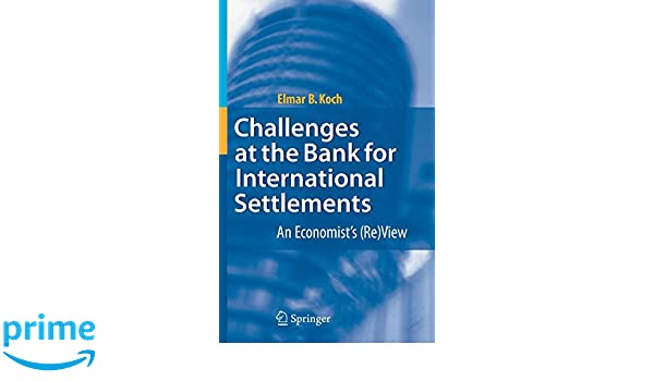 Challenges at the Bank for International Settlements: An Economists (Re)View
