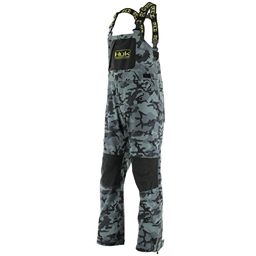 huk performance fishing foul weather bib fished that