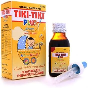 Amazon Com Tiki Tiki Star Plus Syrup 120ml Health