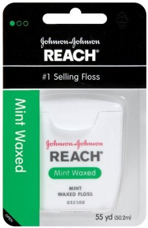 Reach JJ-009217-36 Dental Floss, Mint Waxed -36 per Case