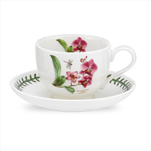 Portmeirion Exotic Botanic Garden Moth Orchid Teacup and Saucer ()