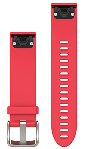 Garmin 010-12491-14 Fenix 5S Quick fit 20 Watch Band - Azalea Pink Silicone