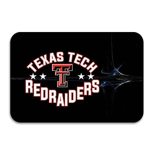 SARHT Texas Tech Red Raiders Lady Raiders TTU Teams Logo Non-slip Doormat